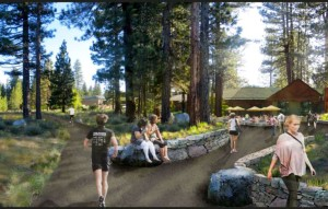 Tahoe Valley -- aka the Y in South Lake Tahoe may become more of a destination. Renderings/Design Workshop