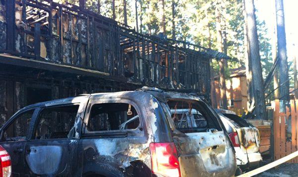 Deerfield Lodge fire