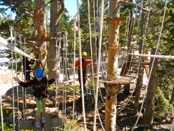Heavenly is now a year-round resort with ropes courses available in the summer and more activities coming soon.  Photo/LTN file