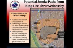 king smoke chart