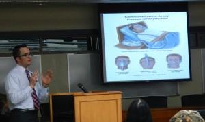 Dr. David Young talks about sleep apnea. Photo/LTN