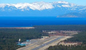 Lake Tahoe Airport's future is being decided by  the public and South Lake Tahoe officials. Photo/LTN file