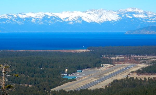 Lake Tahoe Airport has never been without controversy. Photo/LTN file