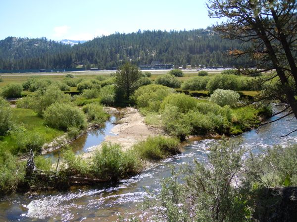 Environmental issues -- like the Upper Truckee River -- will always be a factor when it comes to making decisions about the airport. Photo/LTN file