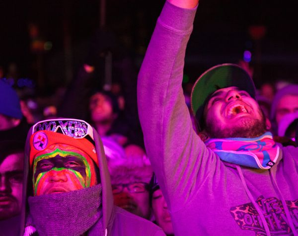 SnowGlobe in South Lake Tahoe caters to the techno crowd. Photo/Carolyn E. Wright/Copyright