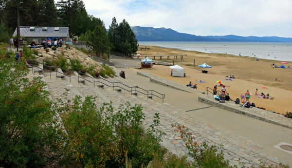 Lakeview Commons has transformed recreation opportunities in South Lake Tahoe. Photos/Jessie Marchesseau