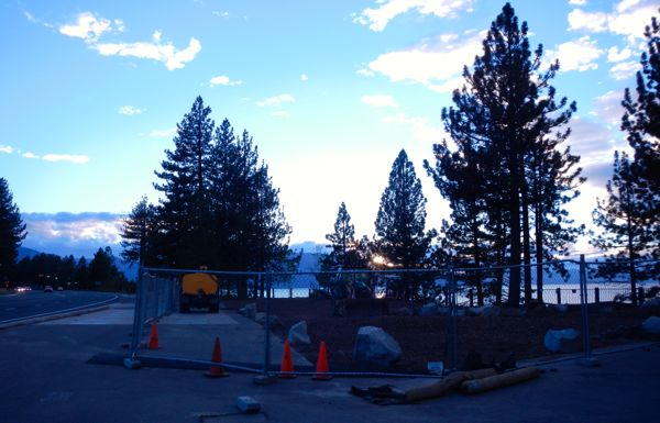This area of South Lake Tahoe is slated to be a small gathering area without motorized access. Photo/Kathryn Reed