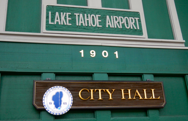S. Lake Tahoe does without traditional city hall