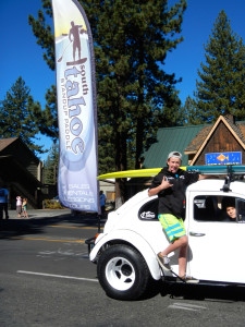 Mark Allen with Tahoe SUP. Photo/Kathryn Reed