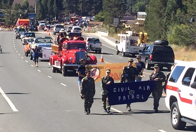 The parade was the length of four football fields. Photo/Susan Wood