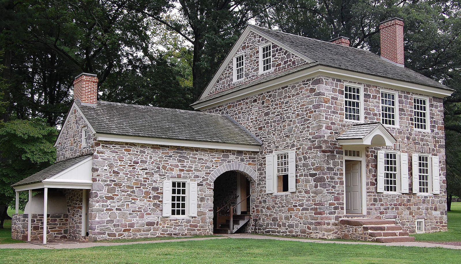 The headquarters of George Washington at the Valley Forge encampment. Photo/RevolutionaryPA.com