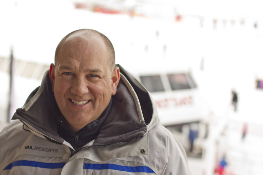 Bill Rock relishes his role of leading the largest ski resort in the United States. Photo/Provided