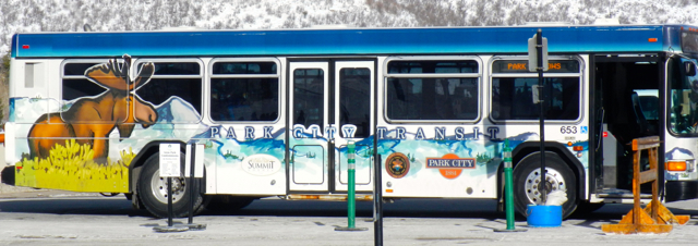 No need for money when riding the bus in Park City.