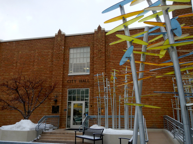 Park City understands the importance of having a true city hall as well as public art.