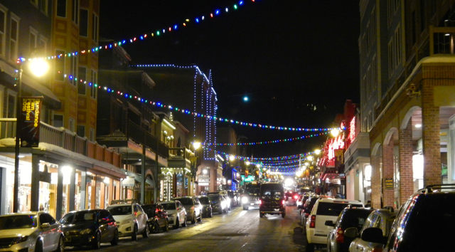 It's easy to walk up and down Main Street in Park City. Photos/Kathryn Reed