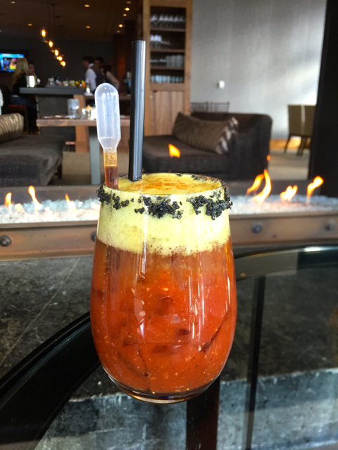 The 7452 Bloody Mary at St. Regis is worth the ride. Photo/Kathryn Reed