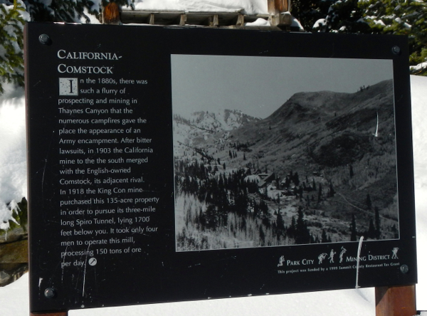 Aspects of Park City's mining history is scattered about the mountain. Photo/Kathryn Reed