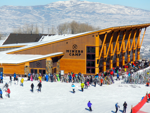 Miners Camp is Park City ski resort's newest dining option. Photo/Kathryn Reed