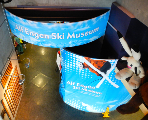 The museum focuses on the 2002 Games and Utah's ski history.