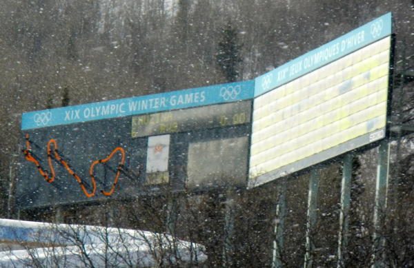 The public may experience a scaled-down version of the Olympic bobsled course. Photo/Kathryn Reed