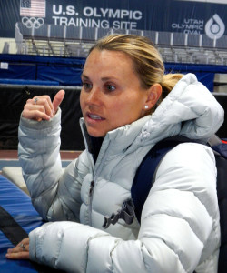 Olympian Jessica Smith-Kooreman raves about the ability to change the consistency of ice at the oval. Photo/Kathryn Reed