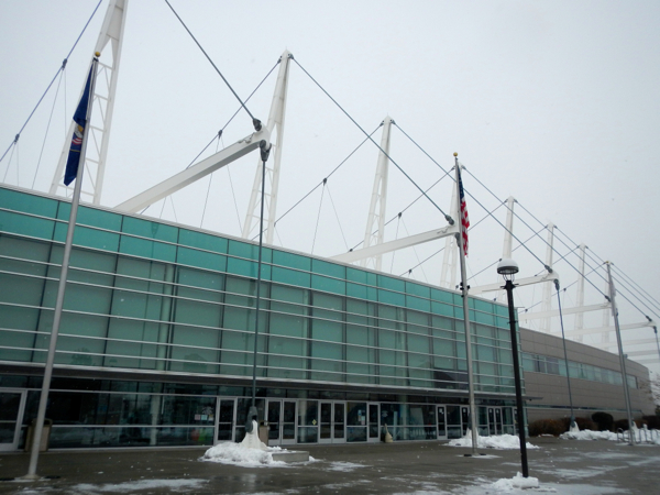 The Olympic Oval located a ways from Park City and  Salt Lake City. Photo/Kathryn Reed