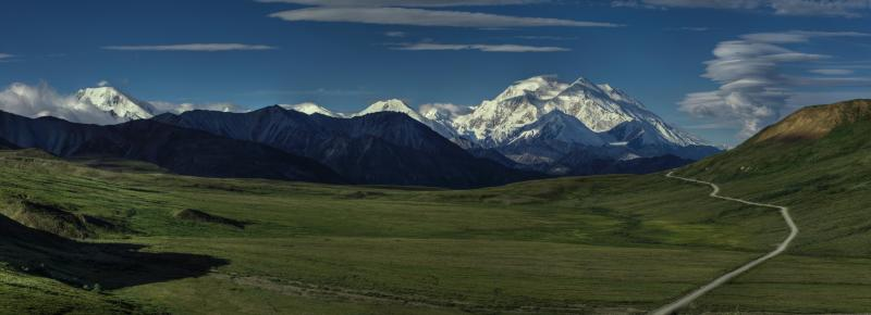 The road to Denali. Photo/Jacob W. Frank/NPS
