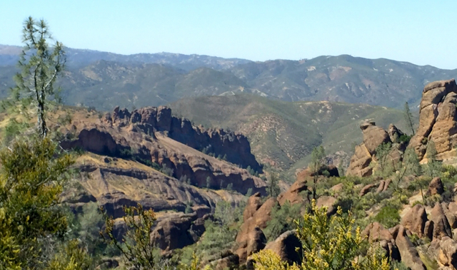 Pinnacles National Park is a geological wonder. Photo/Susan Wood