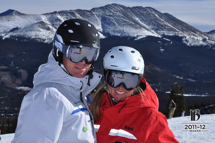 Doug and Leigh Ann Pierini make skiing a priority for their family. Photo/Provided