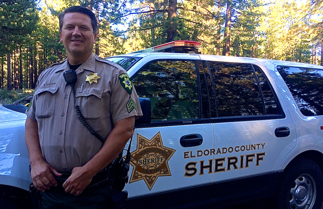 El Dorado County sheriff's Sgt. Michael Yarbrough is a leader in his agency when it comes to handling mental health issues. Photo/Susan Wood