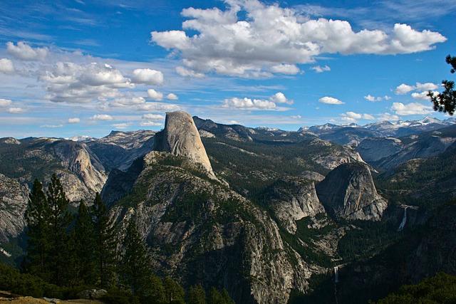 Half Dome from Glacier Point. Photo/George Thomson