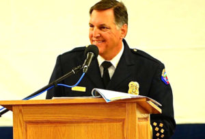 1977 South Tahoe High grad Tim Alameda may soon be fire chief in Lake Valley.