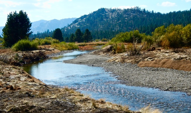The U.S. Forest Service is pleased with the restoration of the Upper Truckee River. Photo/Kathryn Reed