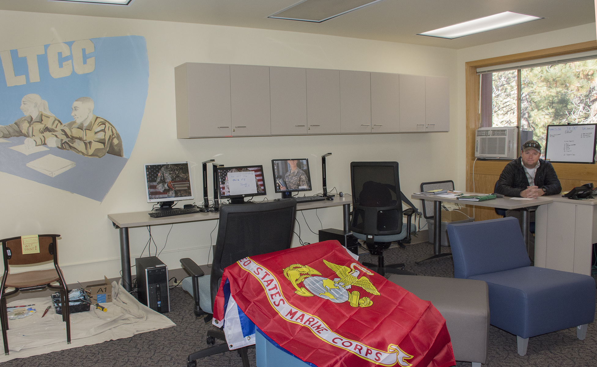 Lake Tahoe Community College has created a Veterans Resource Center. Photo/Provided