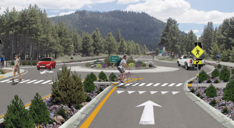 Caltrans now a huge fan of roundabouts