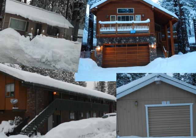 Housing stock varies throughout South Lake Tahoe. Photos/LTN