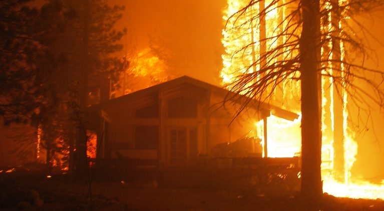 Fire survival may depend on building's construction