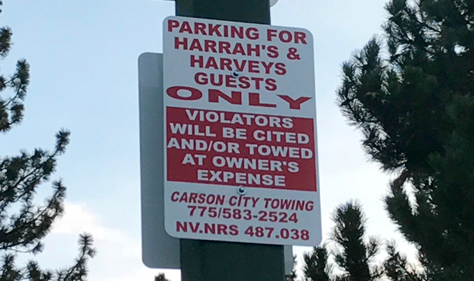Harrah's-Harveys to have year-round paid parking