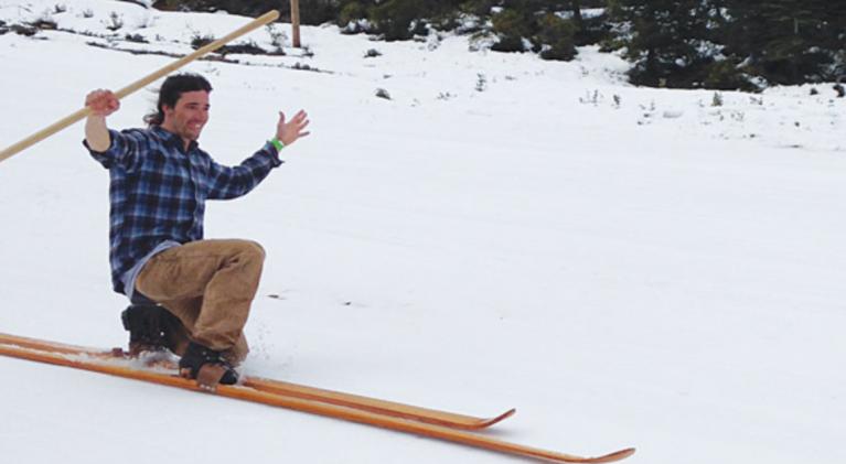Preserving Sierra ski history on film