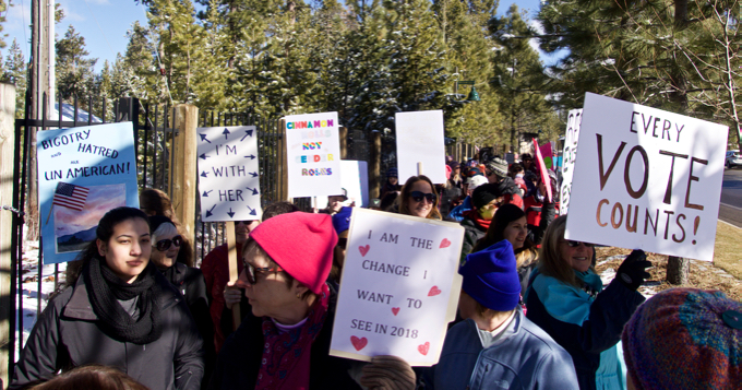 Opinion: Too many reasons for women to march