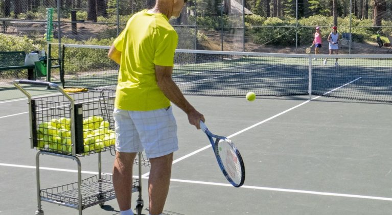 Day, night and weekend tennis instruction at ZCTC