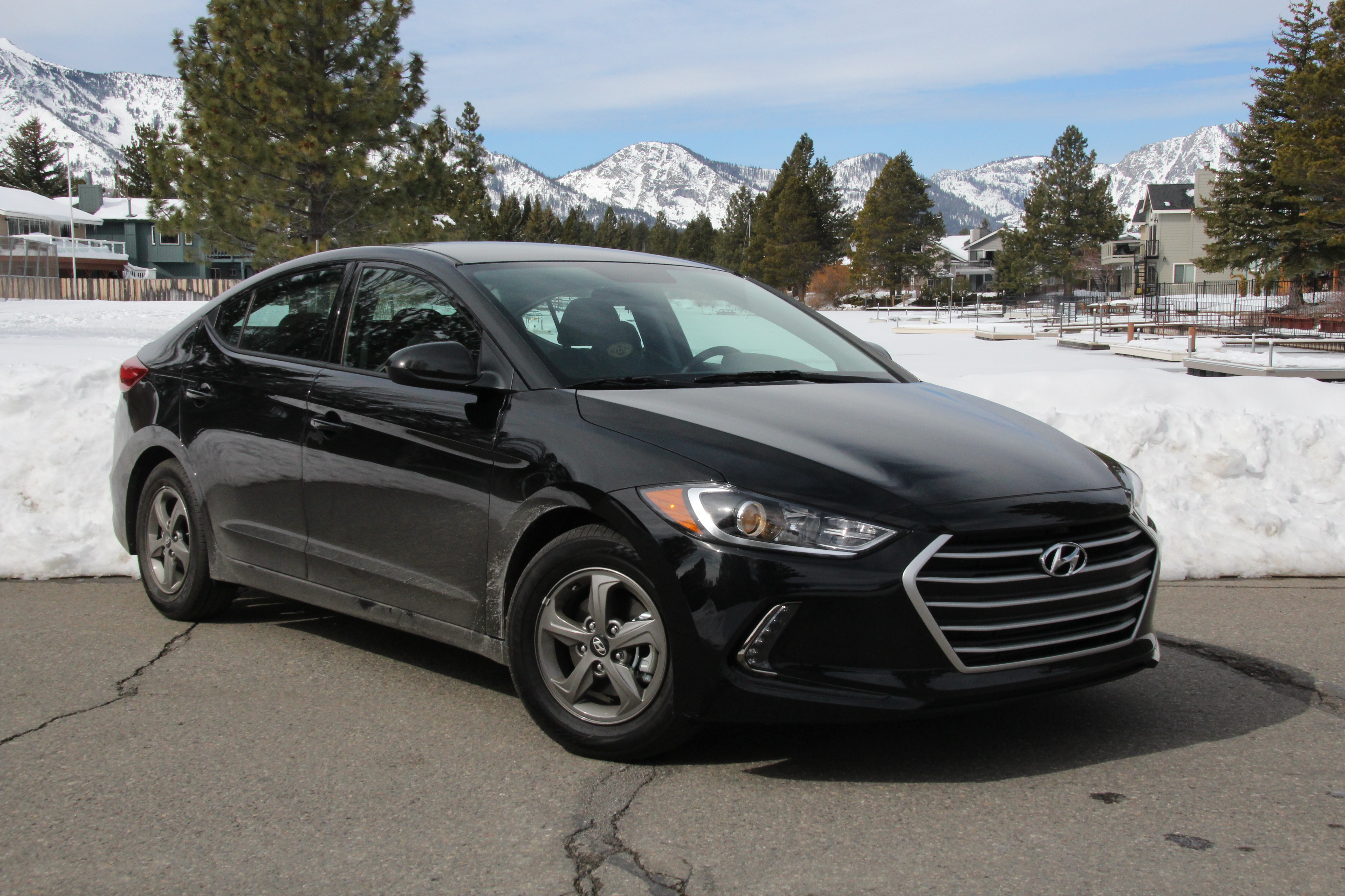 Road Beat Elantra Eco a hybrid of a different sort Lake Tahoe
