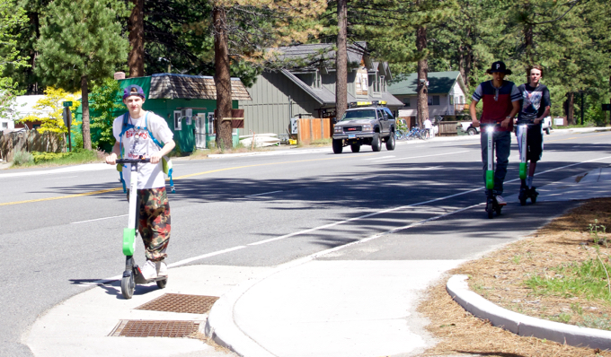 Scooters on collision course with walkers, lawmakers