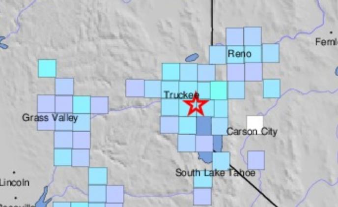 3.5 earthquake shakes Tahoe City