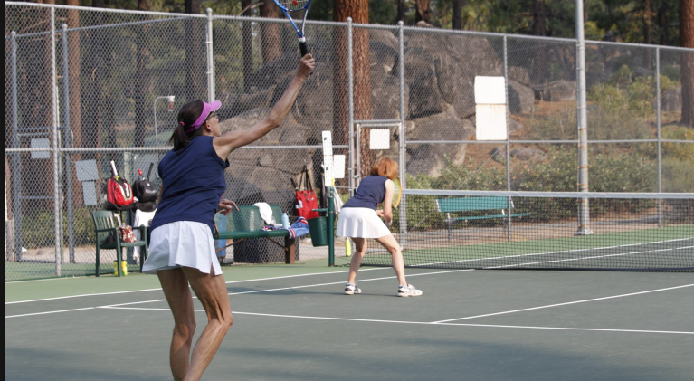 3 double winners at Tahoe Tennis Classic